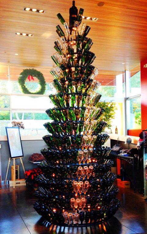 silver oak cellars the wine bottle tree