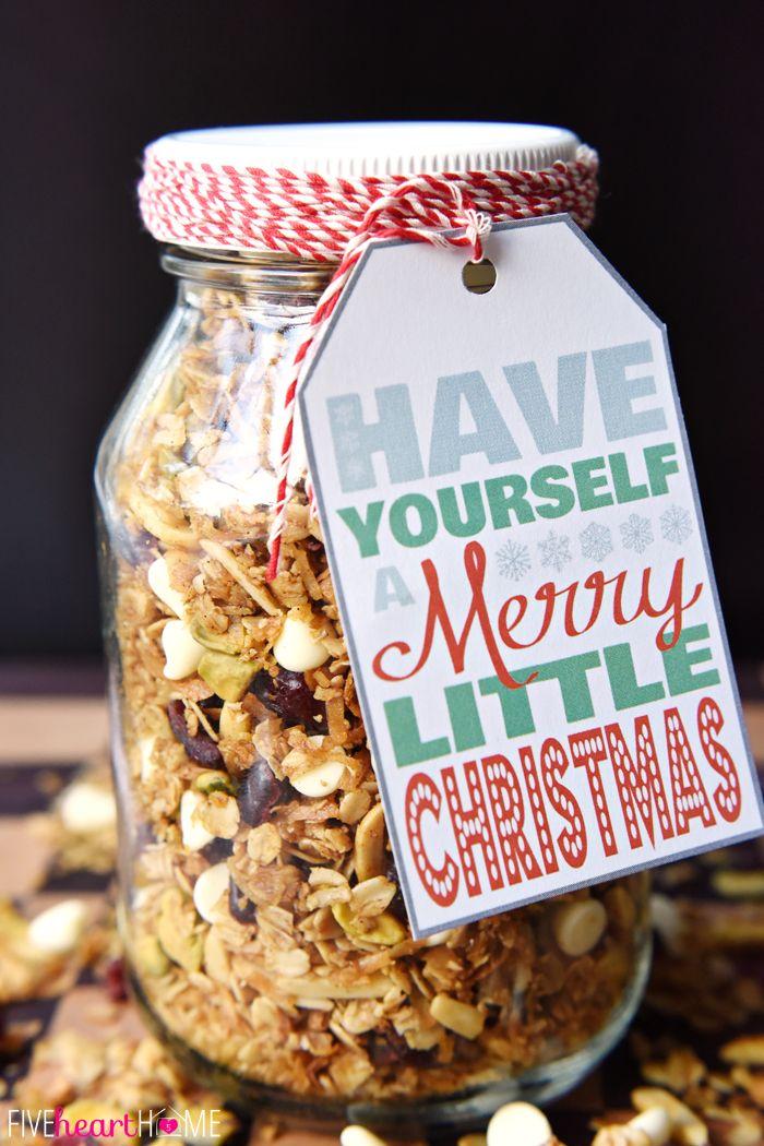 Christmas breakfast food gifts