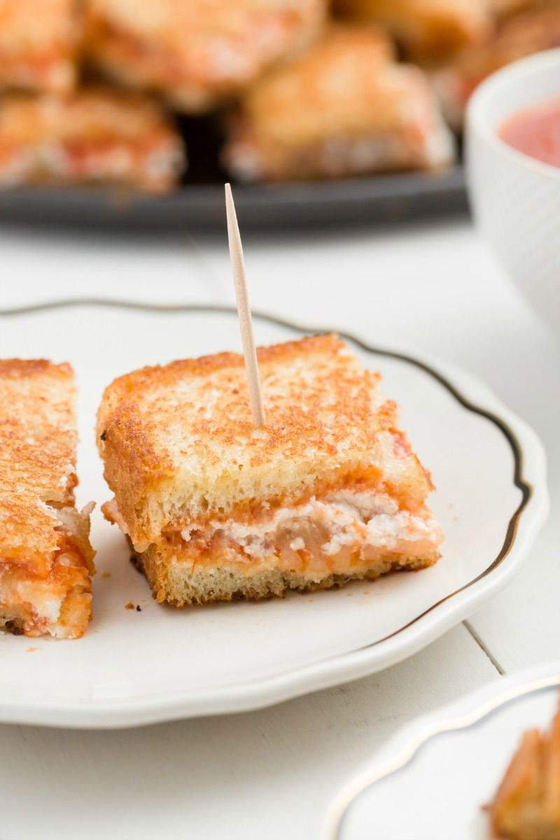 Lasagna Grilled Cheese Bite