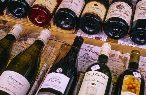 Glass bottle, Alcoholic beverage, Bottle, Alcohol, Drink, Wine bottle, Distilled beverage, Label, Liqueur, Produce,