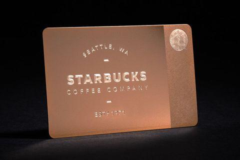 Starbucks Sells Out Its 200 Gift Cards Starbucks Swarovski Gift