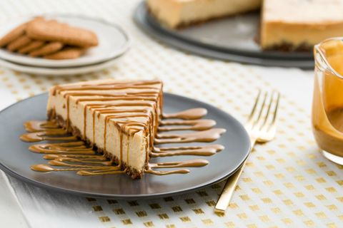 Cookie Butter Cheesecake Slice Horizontal