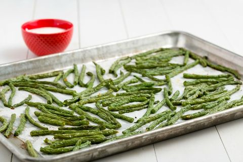 Ranch Roasted Green Bean Fries