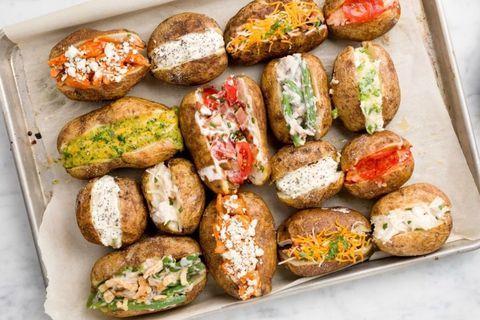 Tricked-Out Baked Potatoes