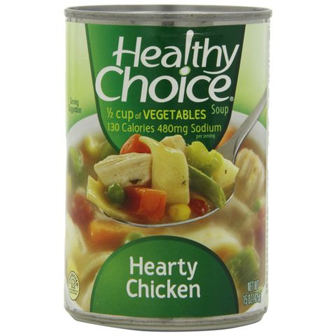 Healthy Choice Hearty Chicken canned soup