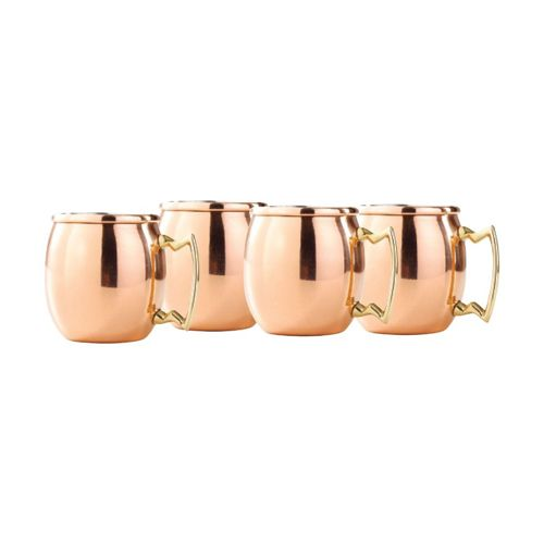 Old Dutch 2-Ounce Solid Copper Moscow Mule Shot Mug