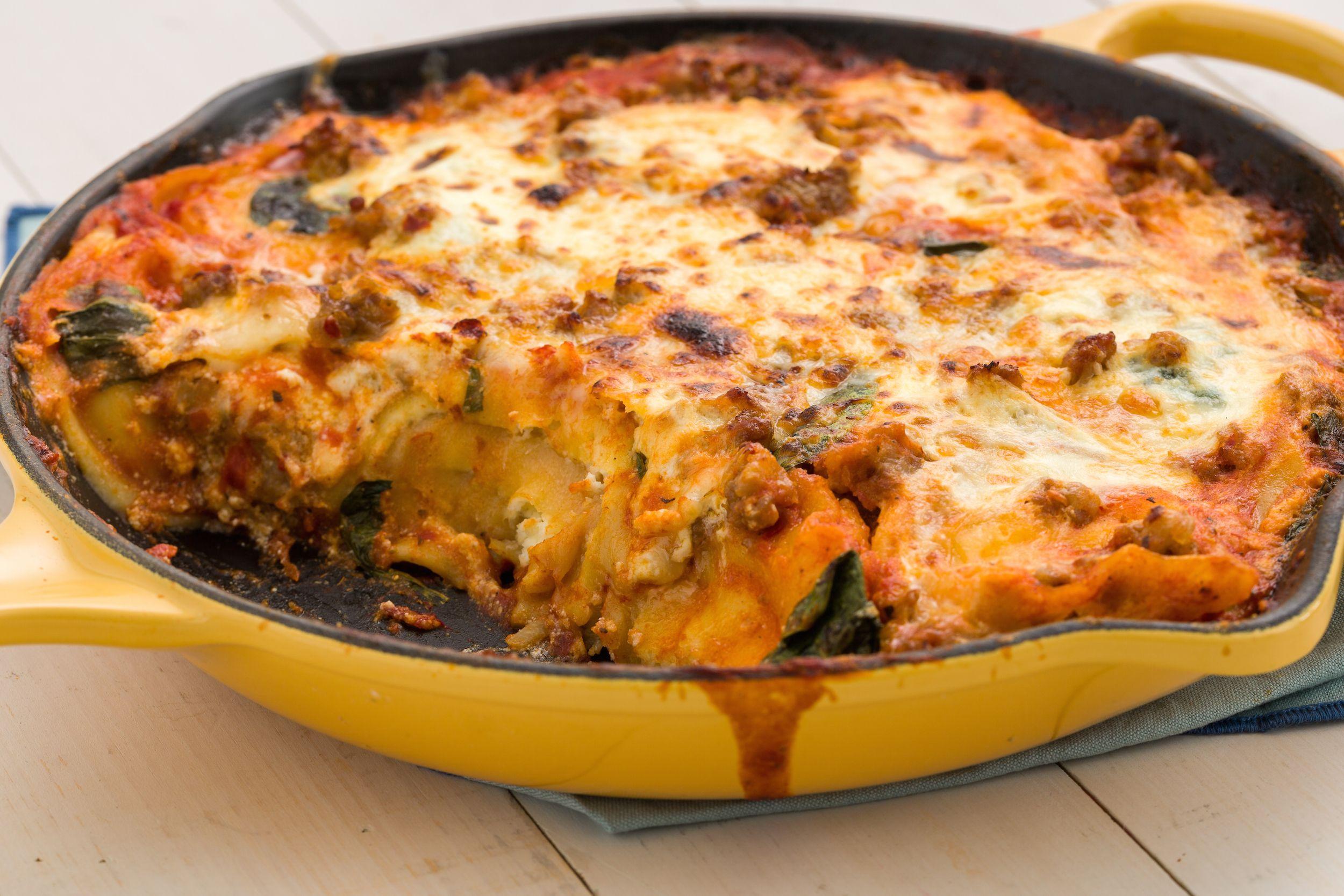 Best Skillet Ravioli Lasagna Recipe How To Make Skillet Ravioli
