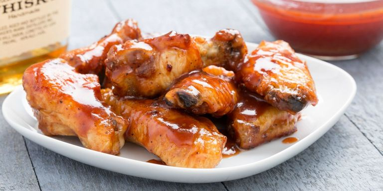 40 easy chicken wing recipes best super bowl wings delish bourbon bbq wings horizontal forumfinder Image collections