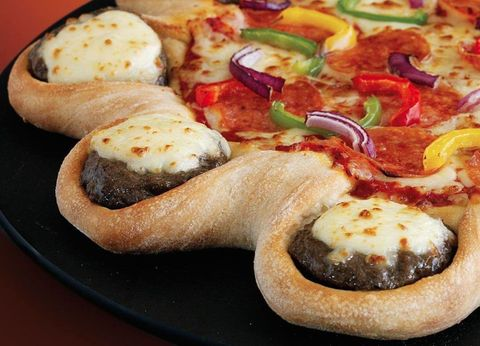 Pizza Hut Cheeseburger Crust