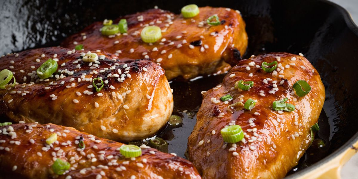 Best Baked Honey Garlic Chicken Recipe How To Make Baked