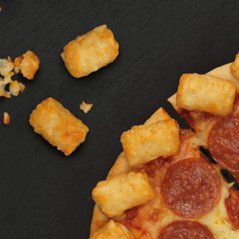 Pizza Hut Tater Tot Pizza Crust