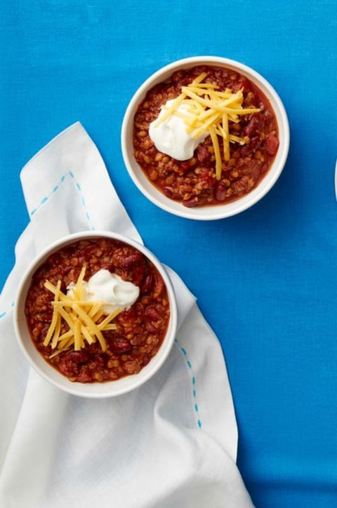 Beef and Lentil Chili