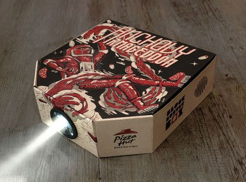 Pizza Hut Projector Box