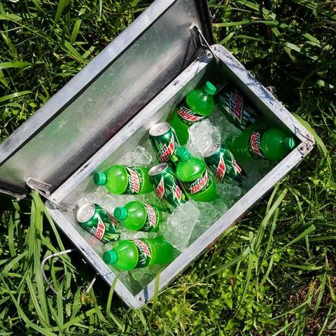 Green, Bottle, Beverage can, Drink, Aluminum can, Home accessories, Plastic,