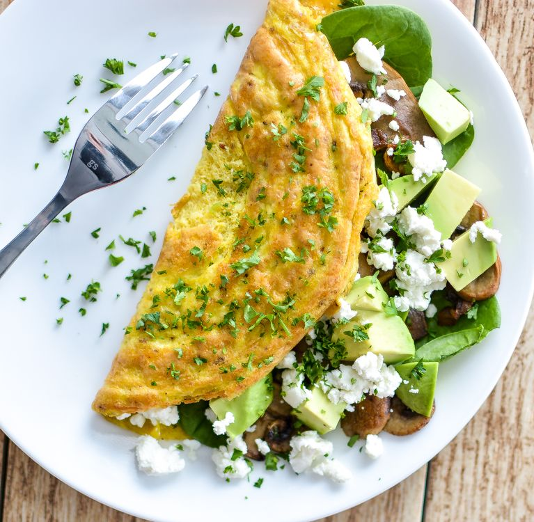 Image result for MIXED VEG OMELETTE AND AVOCADO