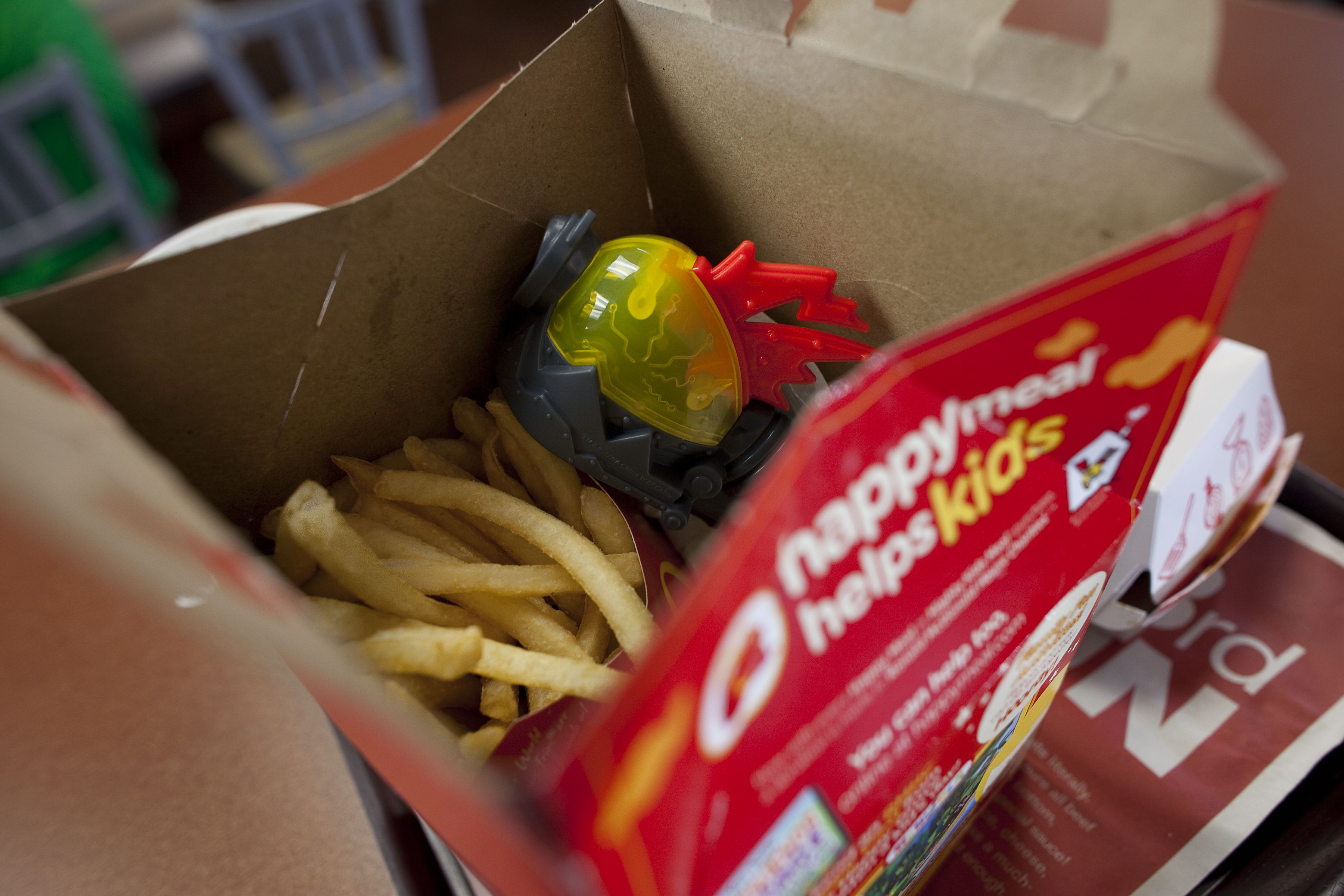 McDonalds Says Goodbye To Happy Meal Toys