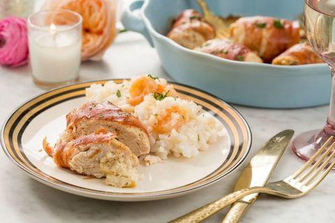 Boursin-Stuffed Chicken