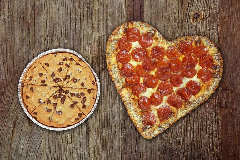 Where To Get Heart Shaped Pizza A K A The Best Valentine