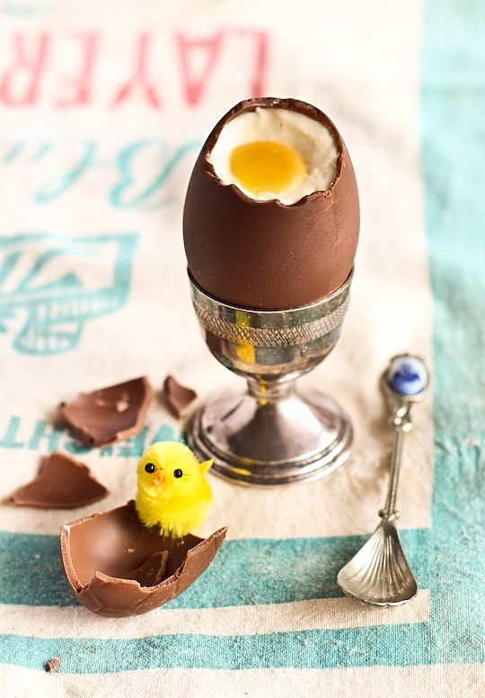 Cooking easter egg
