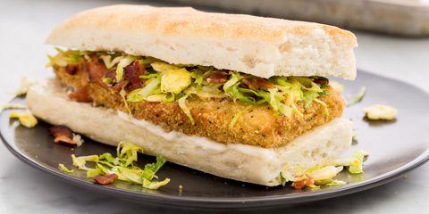 Dish, Food, Cuisine, Ingredient, Sandwich, Fast food, Produce, Staple food, Breakfast sandwich, Finger food,