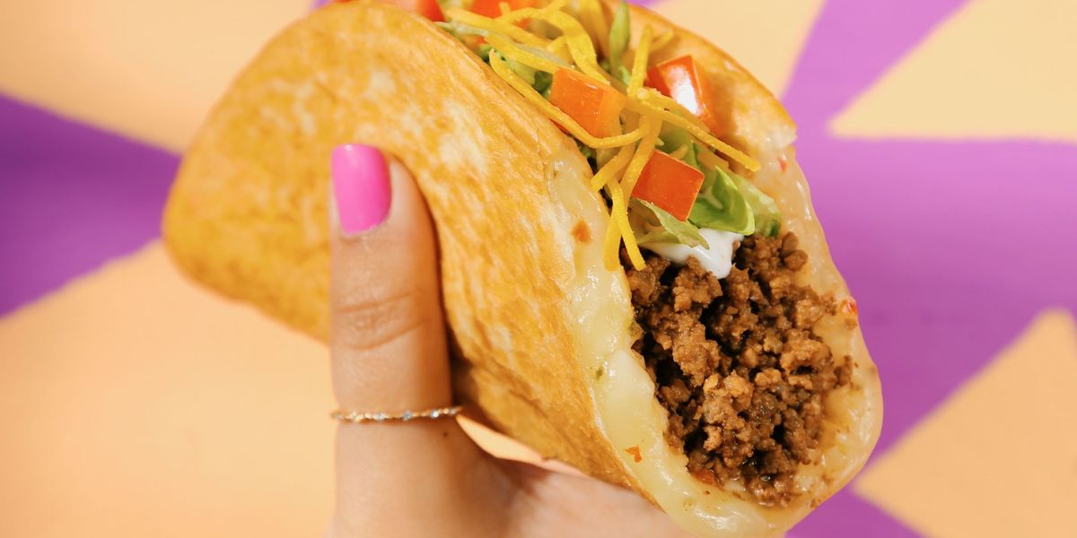 Taco Bell Releases New Quesalupa - Cheesy Taco Shells -8915