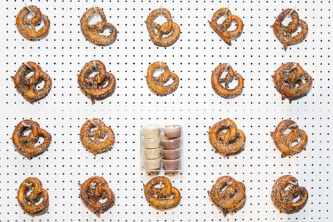 Brown, Orange, Amber, Baked goods, Pattern, Tan, Recipe, Finger food, Snack, Baking,