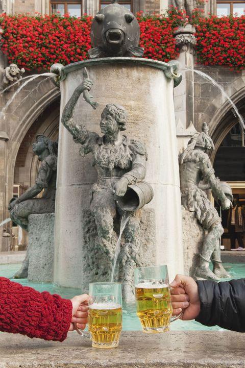 Human, Sculpture, Barware, Drink, Drinkware, Beer glass, Tableware, Beer, Statue, Alcoholic beverage,