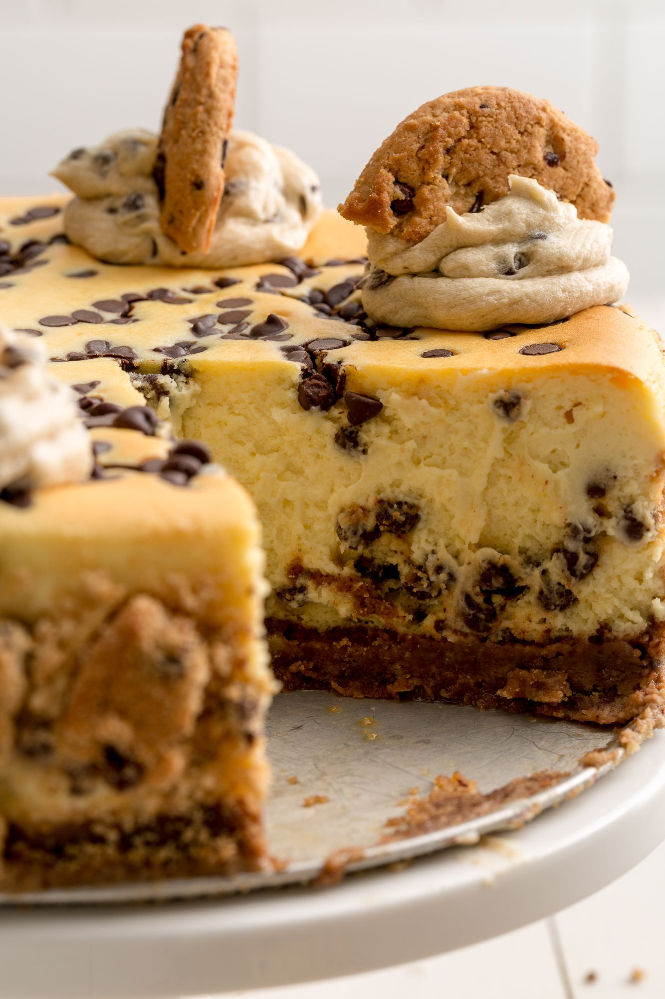 Best Chocolate Chip Cookie Cheesecake Recipe How to Make a