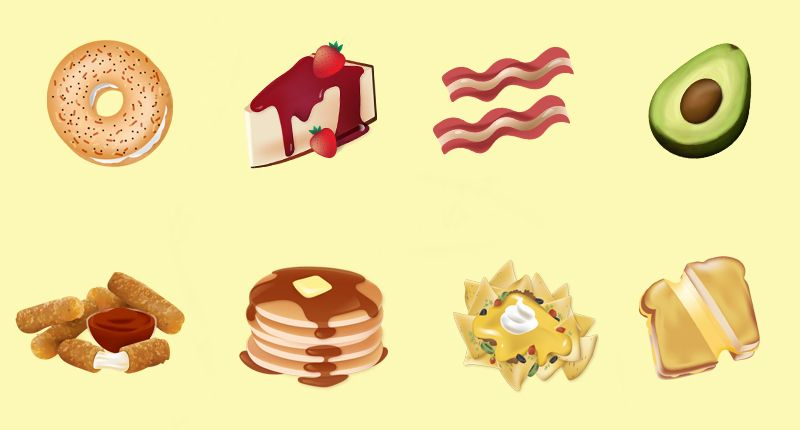 Delish Eatmojis Keyboard - Food Emojis