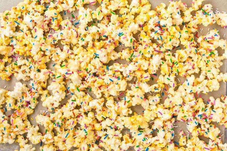 Best Birthday Cake Popcorn Recipe How to Make Birthday Cake Popcorn