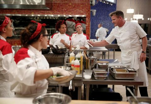 What It S Like To Be On Hell S Kitchen Ariel Malone