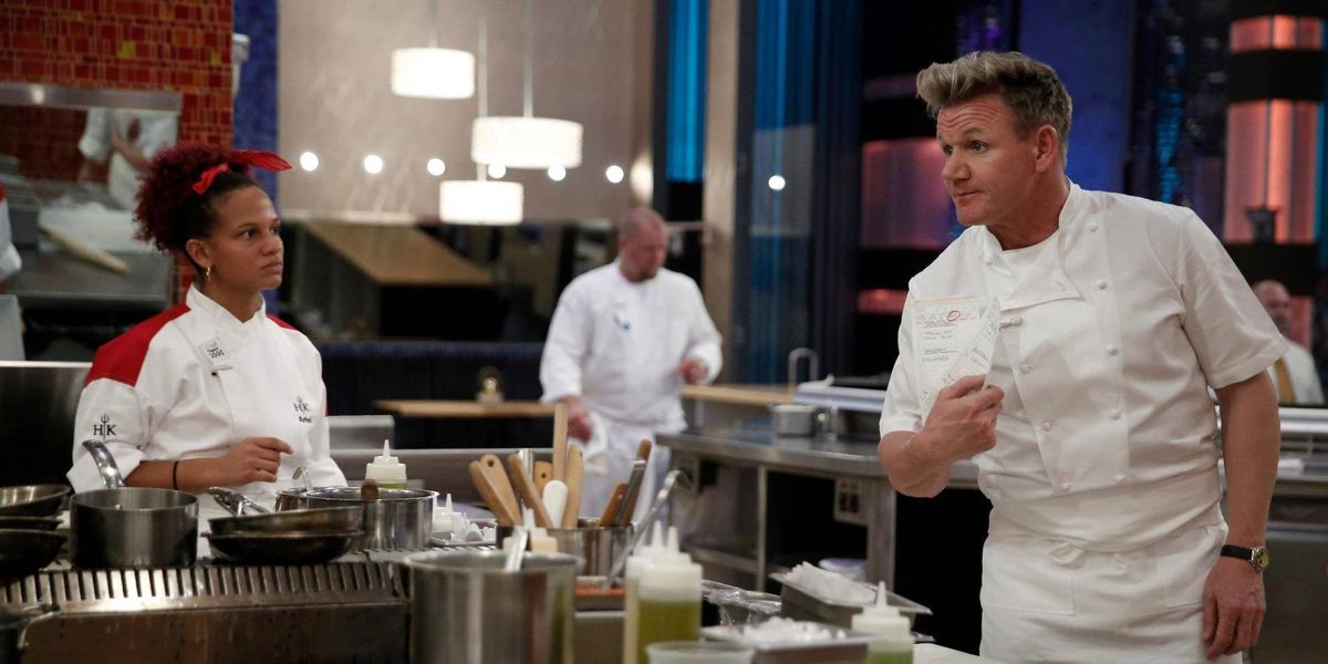 What It S Like To Be On Hell S Kitchen Ariel Malone Interview Delish Com