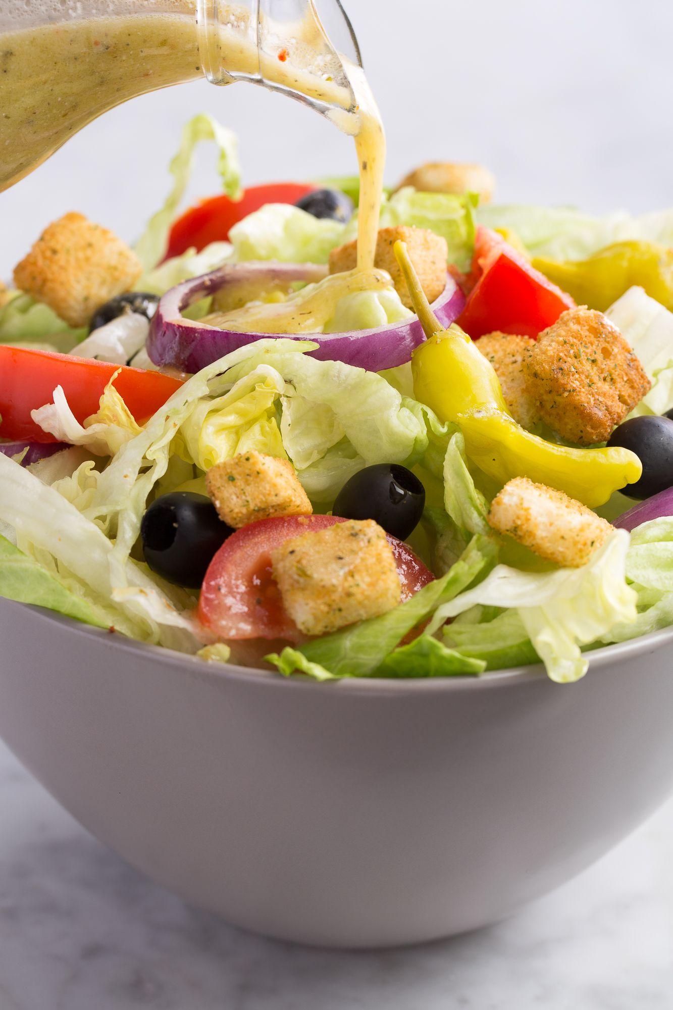 Best Copycat Olive Garden Salad Dressing Recipe How To Make Olive Garden Dressing