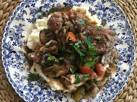 recipe for slow cooker coq au vin