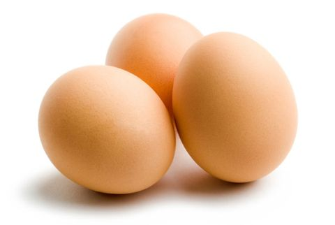 brown eggs in shells