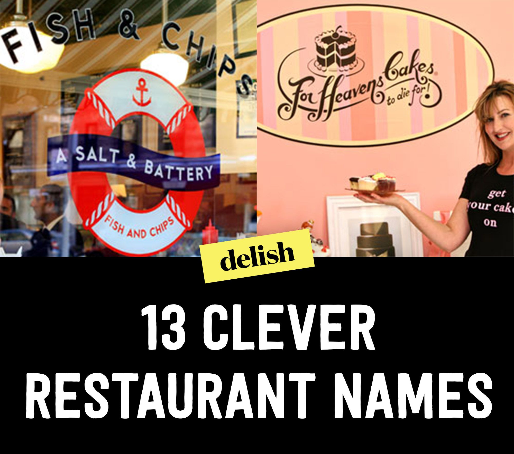 clever restaurant names - funny restaurant names