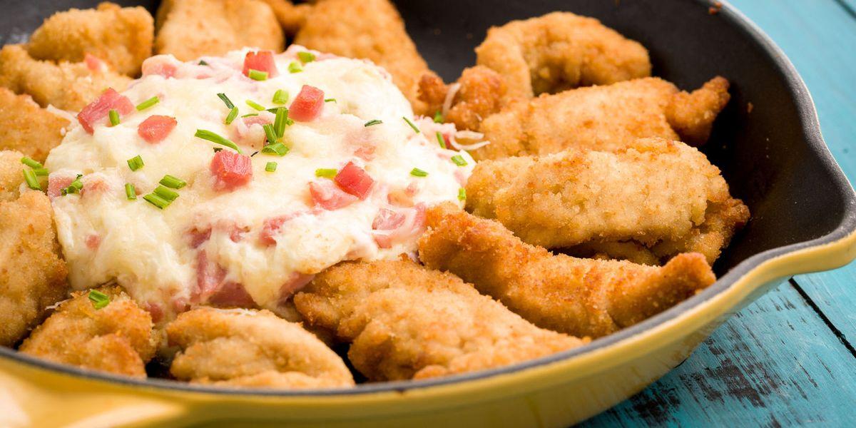 Chicken Cordon Bleu Dip Recipe Best Party Dips Delish Com
