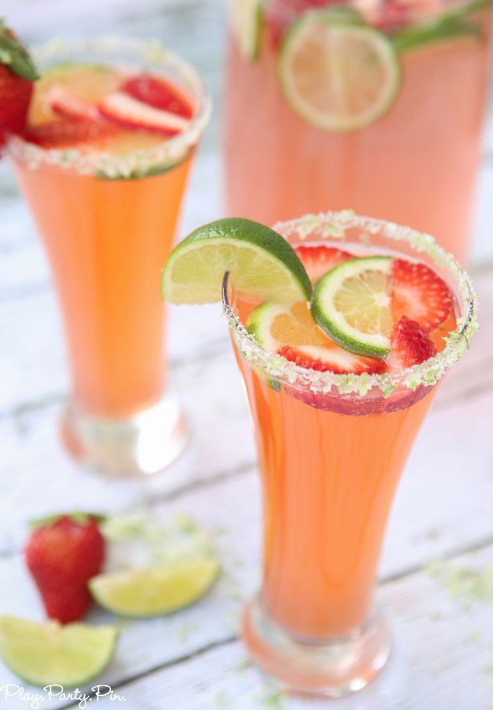 10 Easy Non Alcoholic Party Drinks Recipes For Alcohol Free Summer Delish