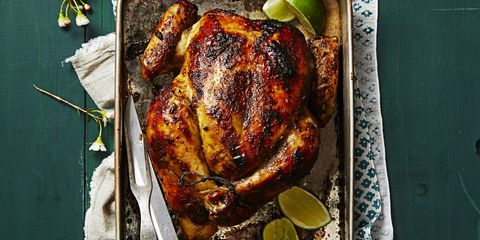 Food, Hendl, Ingredient, Flowerpot, Roasting, Cooking, Chicken meat, Turkey meat, Barbecue chicken, Roast goose,