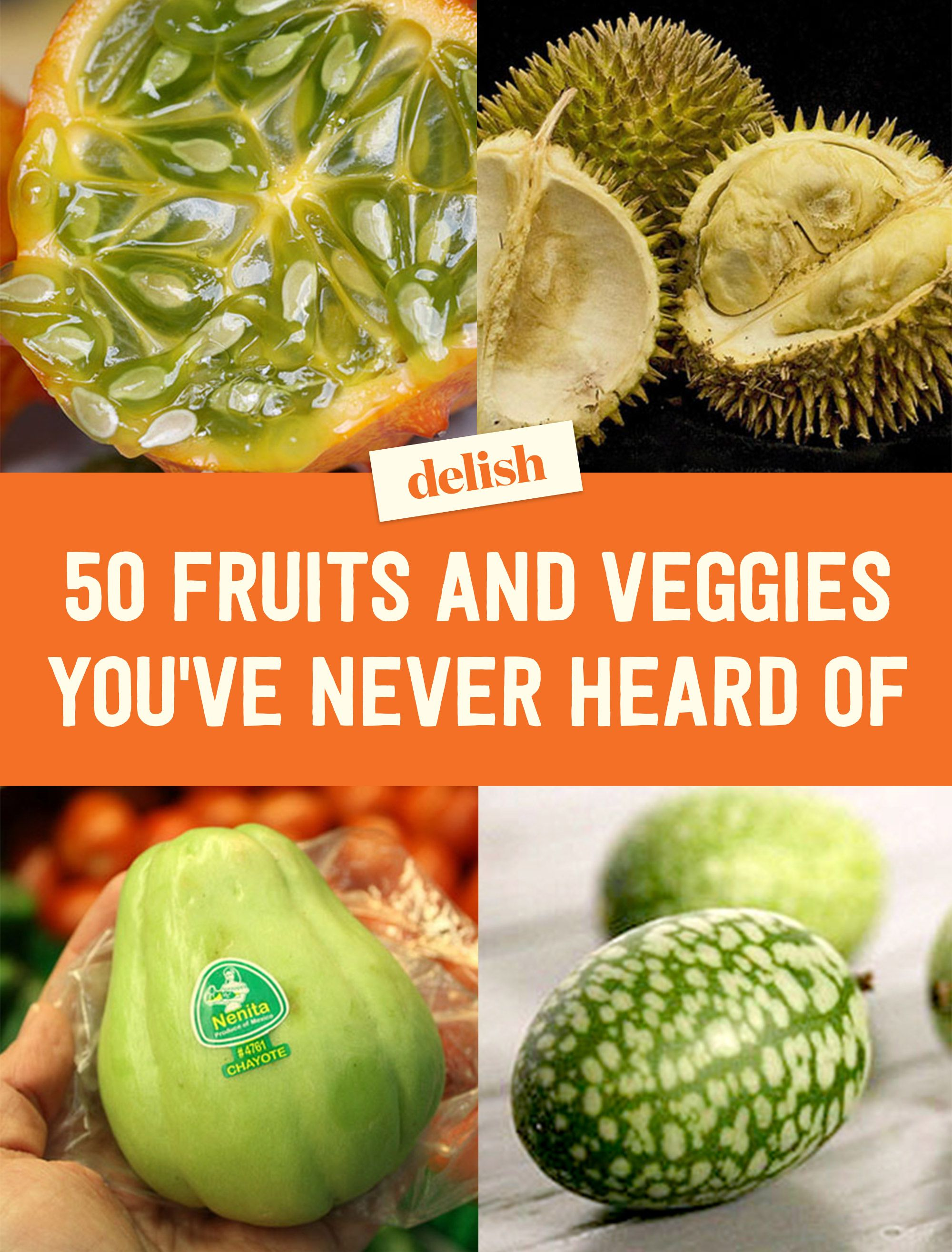 Exotic Fruits and Vegetables - Different Uncommon Fruits and