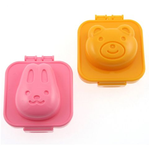"<p><em><strong>$4 per set of 2, <a href=""http://www.amazon.com/Kotobuki-Plastic-Mold-Rabbit-Bear/dp/B002TZ04J6"" target=""_blank"">amazon.com</a></strong></em></p><p>These egg molds will press a smiling bear or rabbit face into a freshly hard-boiled egg. They're the right size for either you or your kids to use, and chances are good kids will actually <em>want </em>to eat their protein if it comes in a container this cute.</p><p><strong>More:</strong> <a href=""http://www.bestproducts.com/eats/food/g133/craziest-oreo-flavors-ever-made/"" target=""_blank"">Wacky Oreo Flavors to Check Off the List</a><span class=""redactor-invisible-space""><br></span></p>"