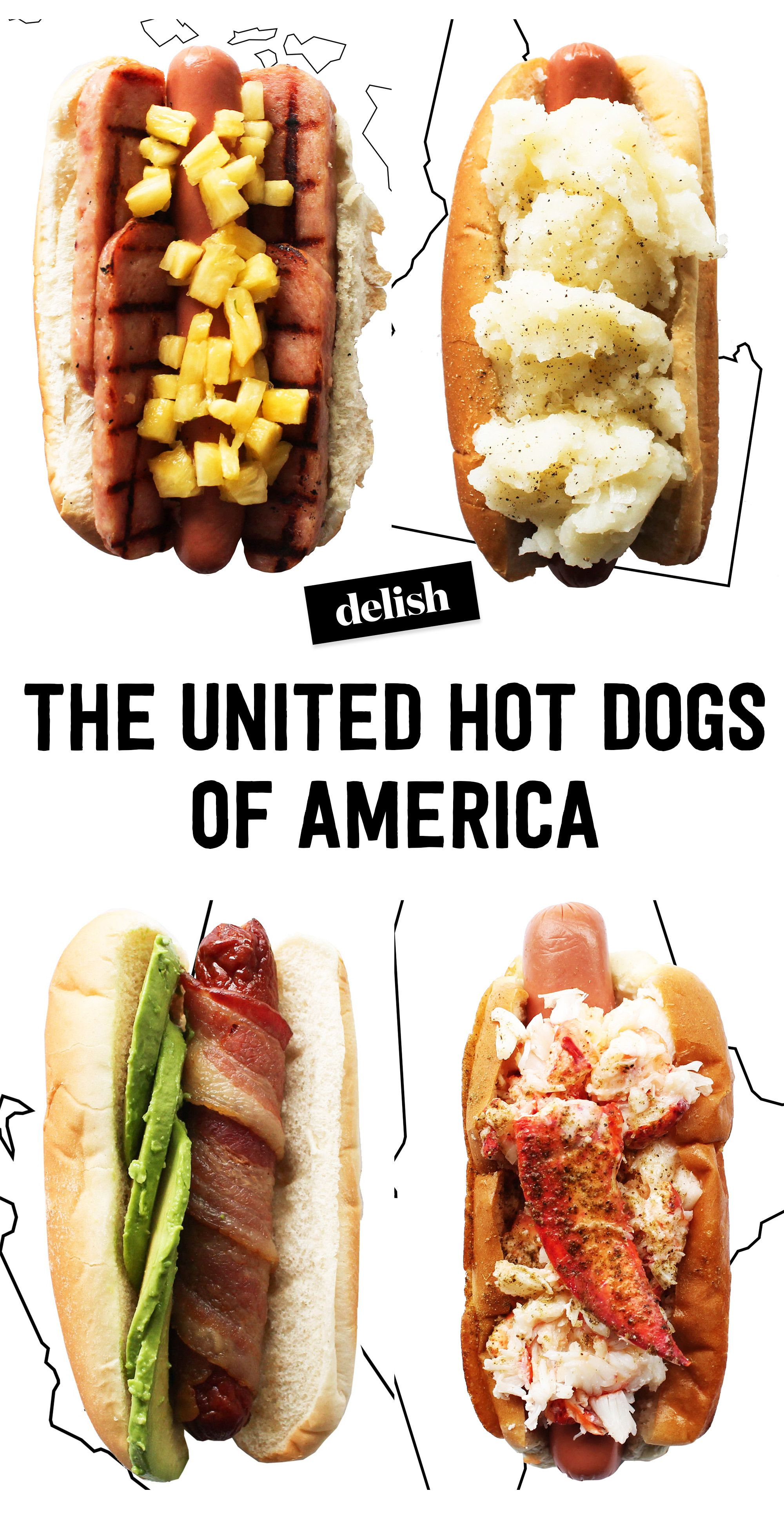 Best Hot Dog Toppings & Condiments - Gourmet Ideas for Topping Hot ...