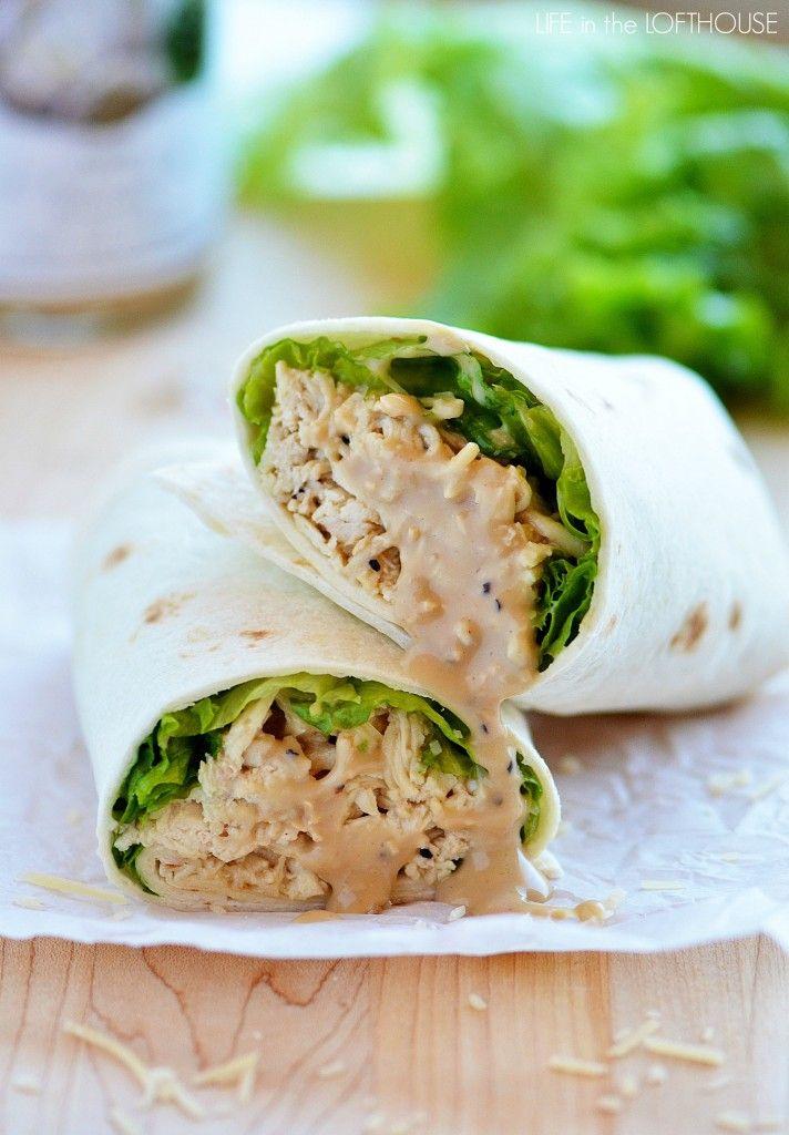 60 Easy Wrap Recipes Ideas For Sandwich Wrapsdelishcom