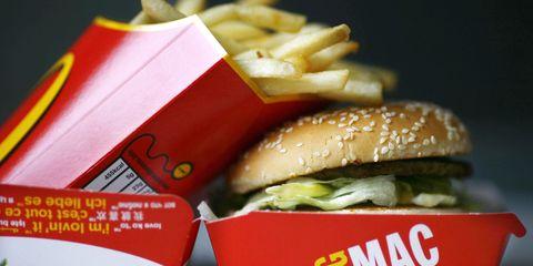 Fast food, Junk food, Food, Dish, Big mac, Hamburger, Cuisine, Original chicken sandwich, Kids' meal, Whopper,