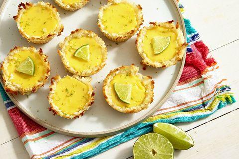 Mini Key Lime Pies with Coconut Macaroon Crust Recipe