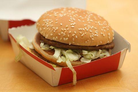Dish, Food, Hamburger, Fast food, Junk food, Veggie burger, Original chicken sandwich, Cuisine, Big mac, Ingredient,