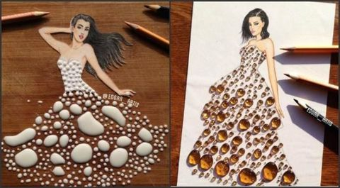 5a38ee07f6 We Want To Wear All These Dresses Made Out Of Food