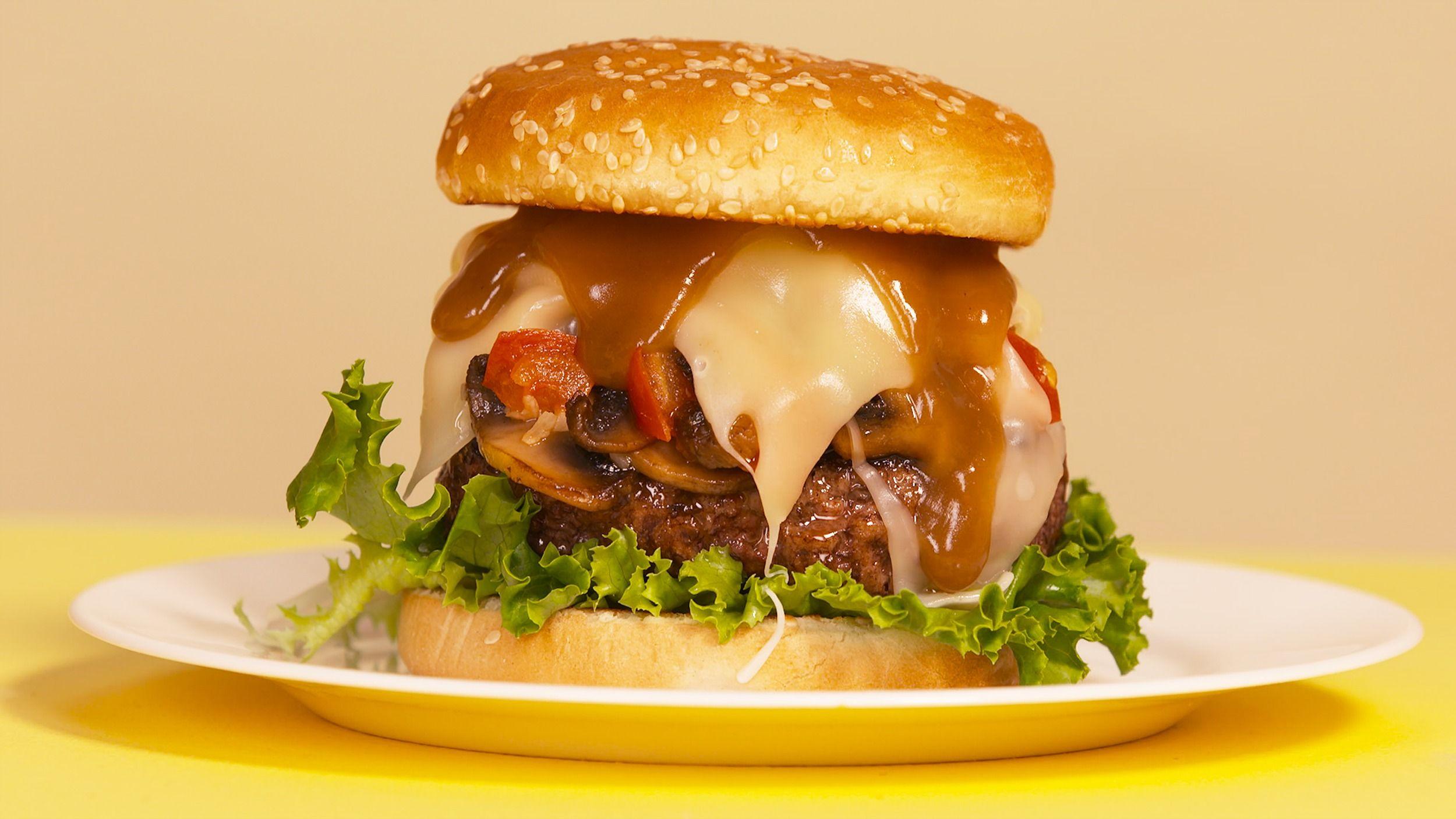 Bob S Burgers Cheeses Is Born Burger Recipe Delish Com