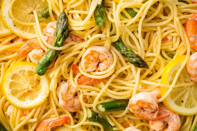 shrimp-asparagus-spaghetti