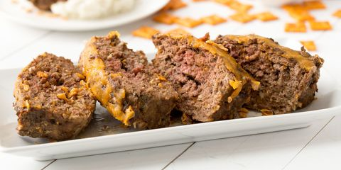 Cheez-It Meatloaf